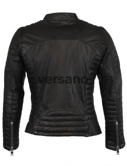 Zoektocht naar een nep leren jas voor dames