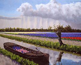 Schilderij met bloemen kopen
